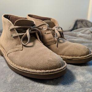 Clarks Originals Tan Suede Desert Boots Size 7M